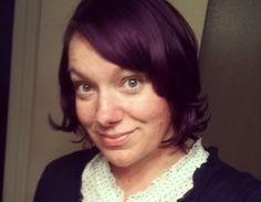 My purple hair. Bright Hair Colors, Purple Hair, Hair Ideas, Beast, Hair Makeup, Creative, Inspiration, Biblical Inspiration, Party Hairstyles
