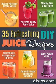 Juice Recipes for Health, Detox and Energy - Piña Colada Lime Cooler - Juic. - Juicing -DIY Juice Recipes for Health, Detox and Energy - Piña Colada Lime Cooler - Juic. Healthy Juice Recipes, Juicer Recipes, Healthy Juices, Detox Recipes, Healthy Drinks, Detox Juices, Healthy Snacks, Easy Detox, Healthy Cleanse
