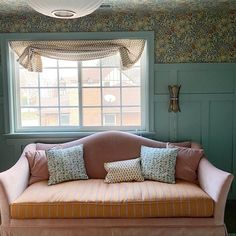 Image may contain: indoor via Beautiful Space, Beautiful Homes, Board And Batten, Small Rooms, Still Have, Room Colors, Home Renovation, Interior Inspiration, Valance Curtains