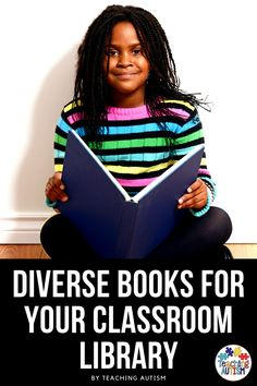 Are you looking to add some more diverse books to your classroom library? If so, you're going to love this list of 20 books that I've put together that are perfect children's books to provide diversity in your classroom or home library. Autism Teaching, Child Teaching, Autism Classroom, Special Education Classroom, Daily 5 Activities, Literacy Activities, Literacy Stations, Literacy Centers, Teacher Blogs