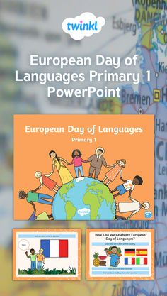 Use this handy Powerpoint to introduce European Day of Languages to your Primary 1 class. Includes some handy key words to add to your existing language knowledge together. European Day Of Languages, France Flag, Union Flags, Knowledge, Key, Words, School, Modern, Bremen