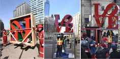 High Polished Philadelphia Love Statue Replica Stainless Steel Blue Love Sculpture for Sale Outdoor Modern Metal Sculpture Fine Sculpture Love Statue, Sculptures For Sale, Elements Of Art, Sculpture Art, Philadelphia, Shed, Stainless Steel, Metal, Modern