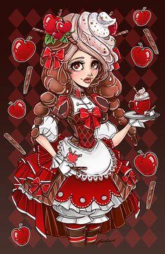 Яблока Корица по NoFlutter