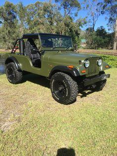 Jeep Cj6, Jeep Willys, Jeep Wrangler, Vintage Jeep, Vintage Cars, Motorcycle Trailer, Jeep Renegade, Go Kart, Shtf