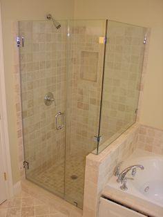 shower door glass - Google Search