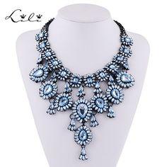 10.82€ - Multi Layer Water Drop Style Maxi Nacklace Collier Femme Bijoux Accessories - Lili Jewelry Factory - https://www.youtube.com/watch?v=ehabGAzG_EU