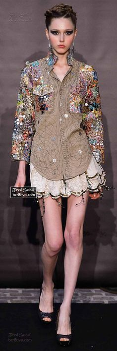 Рубашка Fred Sathal fall 2014-15 couture