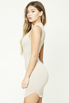 High Neck Bodycon Dress | Forever 21 - 2000207157