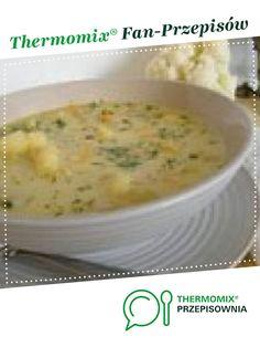Zupa kalafiorowa z lanymi kluseczkami jest to przepis stworzony przez użytkownika Anna30M. Ten przepis na Thermomix® znajdziesz w kategorii Zupy na www.przepisownia.pl, społeczności Thermomix®. Polish Recipes, Polish Food, Cheeseburger Chowder, Food And Drink, Dinner, Kitchens, Stew, Suppers