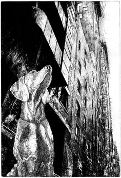 Michael Goro etching