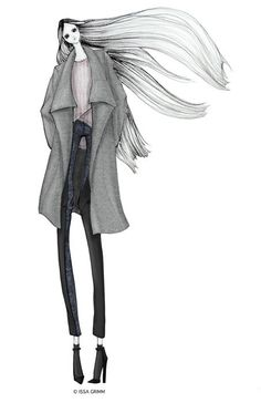ISSA GRIMM: fashion illustration  issagrimm.com #fashionillustration #fashiondesign #drawfashion