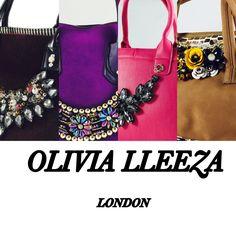 Olivia lleeza handbags available at Amazon websitecomingsoom