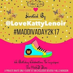 OMG BREAKING NEWS!!!! My boo @lovekattylenoir will be onsite doing customized kicks and making me a personalized pair of MAD DIVA KICKS!!!!! Her work is killing the game is she is so precise and detailed!!! HOT HER UP FOR YOUR CUSTOMIZED KICKS, PLACE YOUR ORDERS FOR MAD DIVA DAY and STOP LOOKING LIKE EVERYONE ELSE!!! 😜😋😝😛🤑 #MADDIVADAY2K17 #tennish #shoe #shoes #shoeporn #sotd #kotd #sneakers #customizedtennis #customtennis #tennisshoes #sneakergame • • • 🥃🍷🥂🍻🍹🍹🍸 SAVE THE DATE…
