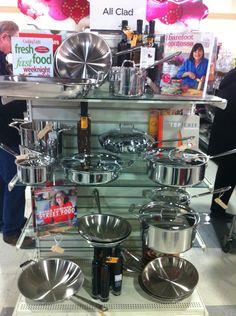 All clad pots