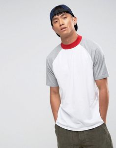 Get this Asos's turtleneck t-shirt now! Click for more details. Worldwide shipping. ASOS Relaxed Skater Contrast Tee with Turtle Neck - White: T-shirt by ASOS, Soft-touch cotton jersey, Turtle neck, Contrast raglan sleeves, Looser in the chest and hem, Relaxed skater fit, Machine wash, 100% Cotton, Our model wears a size Medium and is 184cm/6'0.5 tall. ASOS menswear shuts down the new season with the latest trends and the coolest products, designed in London and sold across the world. Update…