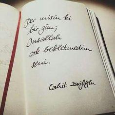 Der misin? #cahitzarifoğlu #anlamlı #sözler