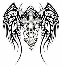57 Tatuagens de cruzes, crucifixos e terços