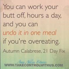21 Day Fix, Fitness Motivation
