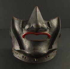 Muromachi Period Yadome Menpo [Face Armour]