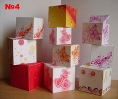 Beautiful gift boxes
