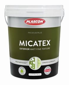 Plascon Micatex is a Weathertough™ premium quality, extremely durable UV-resistant water-based paint coating with a fine texture. Pvc Gutters, Iron Cleaner, Sugar Soap, Coat Paint, Wire Brushes, Brickwork, Upholstered Furniture, Pipes, Packaging Design