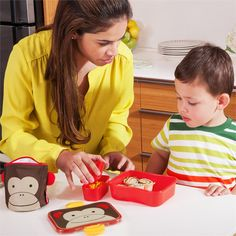 Zoo Lunch Box - Monkey by Skip Hop. Have lunch with a Zoo Pal! #backtoschool