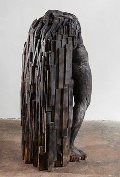 Home: Laura Eckert - Skuplturen Thing 1, Wood Sculpture, Art Sculptures, Installation Art, Body Art, Fine Art, Statue, Painting, Beautiful