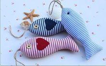 venda quente pano colorido decoração de natal peixe/decoração do casamento/artesanal pingente ornamentstextile& tecido artesanato(China (Mainland))