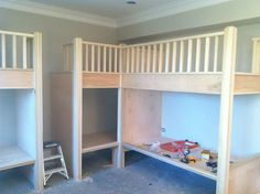built in corner bunks | built in bunk beds bunk bed progress pics attached thumbnails