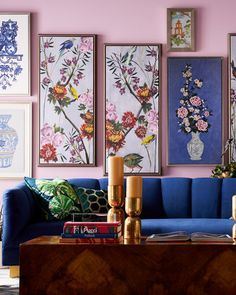 Living Room Decor, Bedroom Decor, Living Rooms, Wall Art Sets, Home Decor Inspiration, Home And Living, Interior And Exterior, Home Furnishings, Chinoiserie