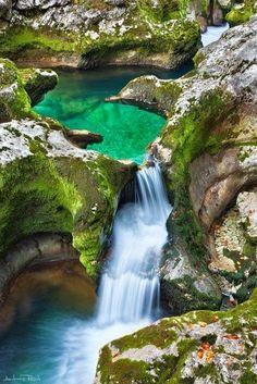 Emerald Pool, The Alps, Austria  #travel