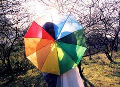 Fun. #wedding #rainbow #accessories