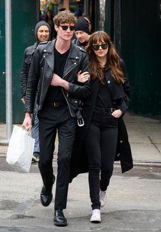 Dakota Johnson Photos - Matthew Hitt and Dakota Johnson are seen out for a stroll on May 2, 2016. - Dakota Johnson and Matthew Hitt…