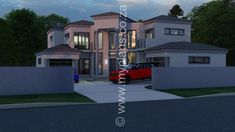 Blender Version: My Building, Building Plans, Architect Fees, House Plans South Africa, 5 Bedroom House Plans, Construction Drawings, Bedroom With Ensuite, Open Plan, Windows And Doors