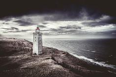 Rubjerg Knude Lighthouse, Denmark by Ulla Jensen, via 500px