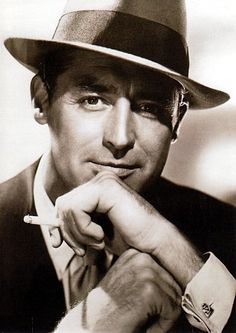 "Cary Grant. ""I pretended to be somebody I wanted to be until finally I became that person. Or he became me."""