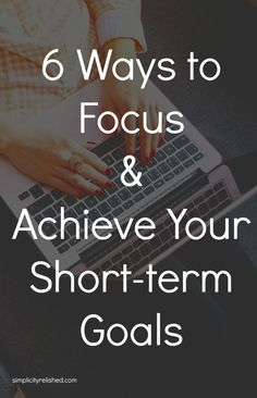 Are you struggling to achieve that goal you set for 2015? Here are 6 keys to staying focused and pursuing what matters to you. #biztips #smallbiz #motivation
