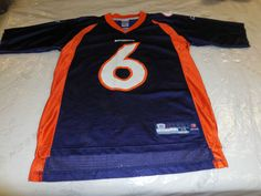 NFL Denver Broncos Jay Cutler #6 Jersey by Reebok, Men's Size Medium #Reebok #DenverBroncos