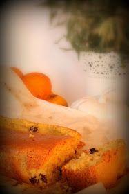Receitas ao Desafio: Bolo de laranja e arandos secos