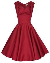 Lindy Bop Red Ophelia Vintage Dress