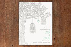 Love Let Loose Wedding Invitations