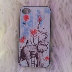 Elephant iPhone 4s case Elephant iPhone 4s case. Great condition, like new. Slim fit. Accessories Phone Cases