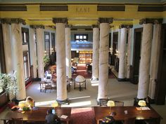 I love a beautiful library - this is at the College of Wooster.