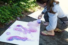 Bubble Printing with Bubble Snakes - Bubble Printing with Bubble Snakes