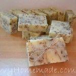 Natural Homemade Soap Recipes