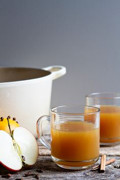 Warm up with a mug of warm wassail from My Baking Addiction