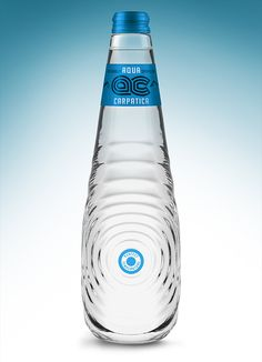 "Aqua Carpatica packaging presented here, is a concept design created for a international contest ""The Perfect Shape for The Perfect Water"" held by Carpathian Spring and Cohn&Jansen in 2010."