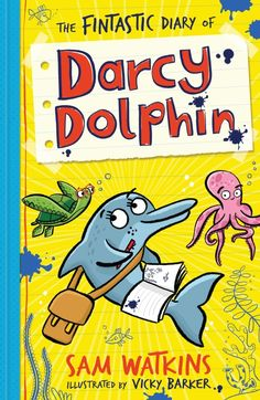 Join Darcy Dolphin and friends for some underwater adventures! In the first book of the series, Darcy gets a pet, auditions for the role of Finderella in the school play, and solves a mystery on the reef.