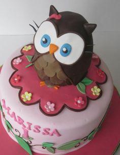 owl birthday cakes   owl birthday cake   Tinkerbelle party ideas :)