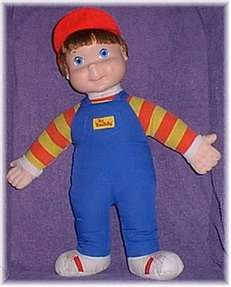 my brother had this My Buddy doll